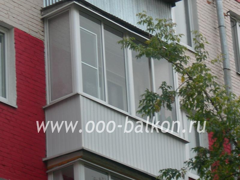 От 18500 р заказать теплое, холодное остекление балконов и л.
