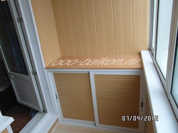 Изготовление шкафов из дсп на балкон.