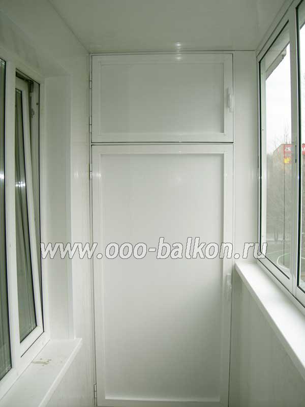 Шкаф на балконе или тумбочка на балкон..